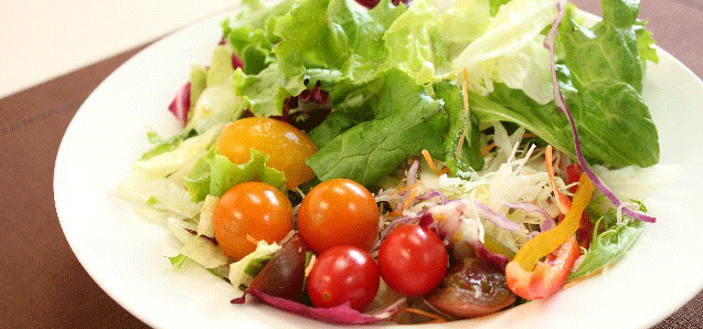 積極的に野菜を食事に取り入れましょう!